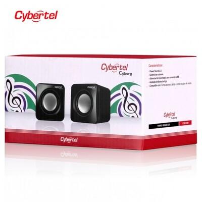 PARLANTE USB 2.0 USB CYBERTEL CYBORG CYB-S100