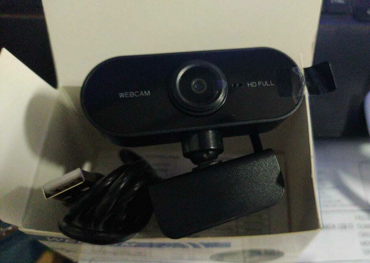 CAMARA WEB PARA PC O LAPTOP 1080P