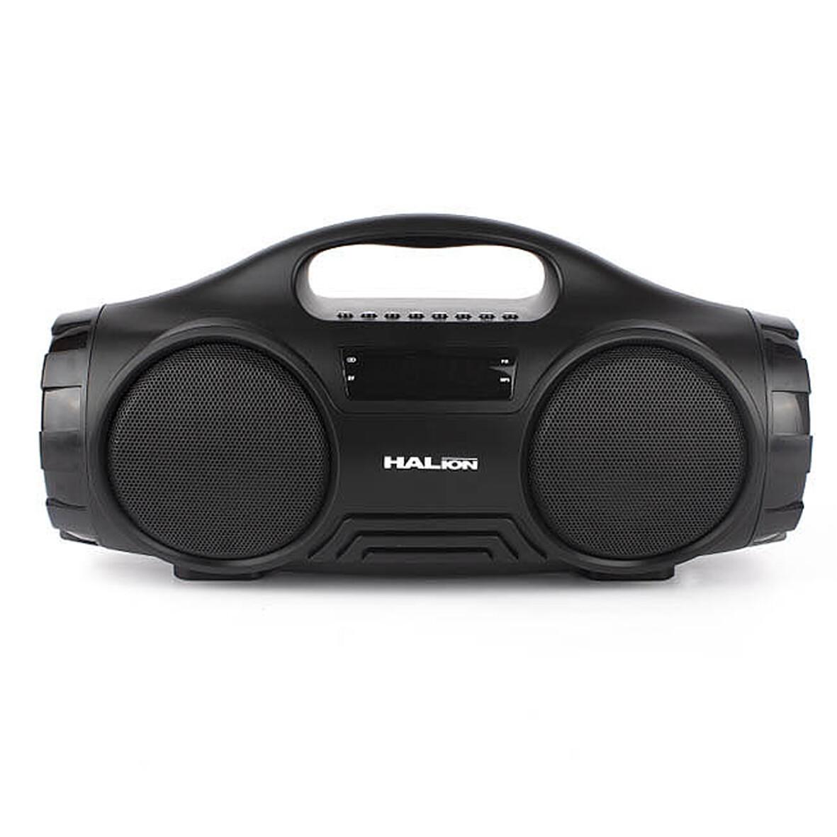 RADIO PARLANTE PORTATIL BLUETOOTH | FM | USB | TF CARD | HALION HA-R42 80W