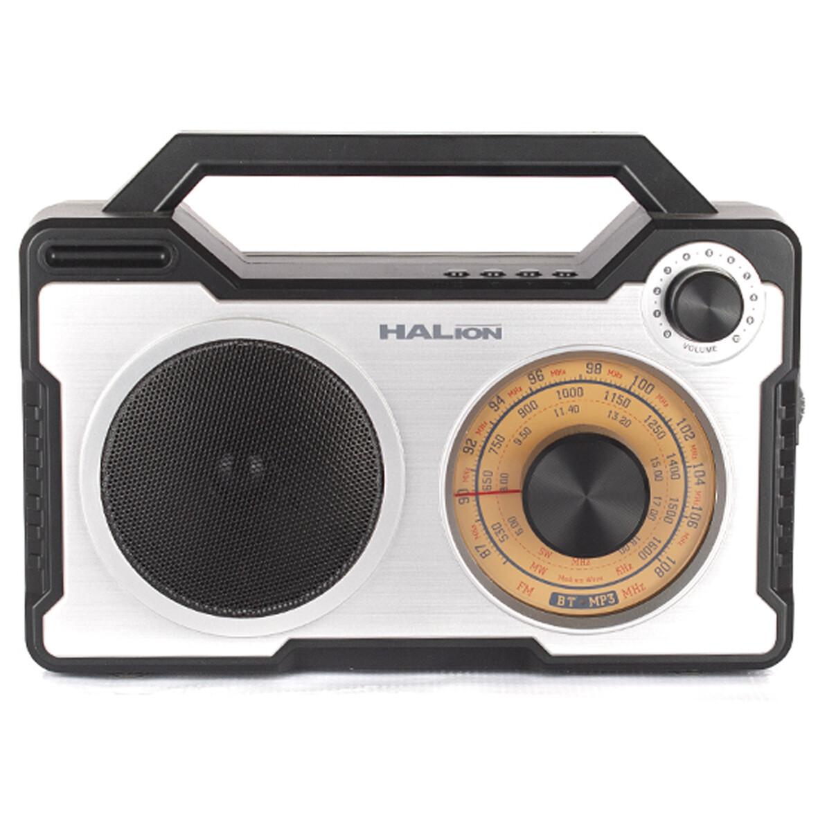 RADIO PARLANTE PORTATIL 30W   AM-FM   BLUETOOTH   TF CARD   HALION AT 7500