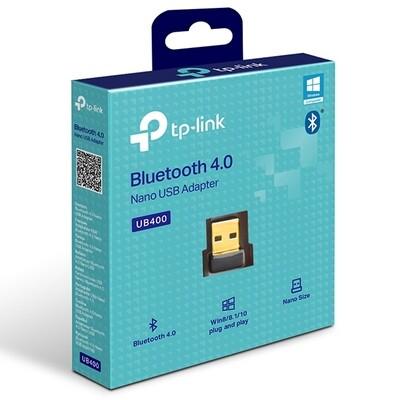 ADAPTADOR BLUETOOTH USB NANO TP LINK UB400 PARA LAPTOP PC Y NOTEBOOK