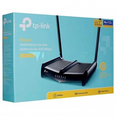 ROUTER ROMPE MUROS INTENSO TL-WR841HP 300Mbps TP LINK