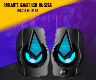 PARLANTE GAMER DIAMANTE GR HA-S266 PARA PC