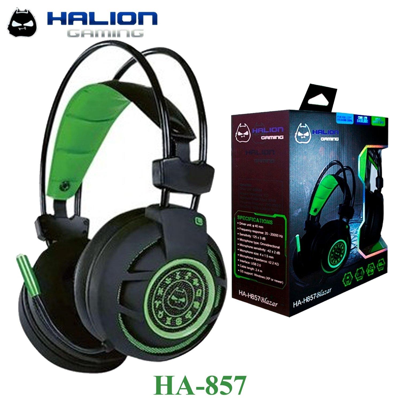 AUDIFONO HEADSET GAMER USB HALION HA-857 BLAZER  ISC