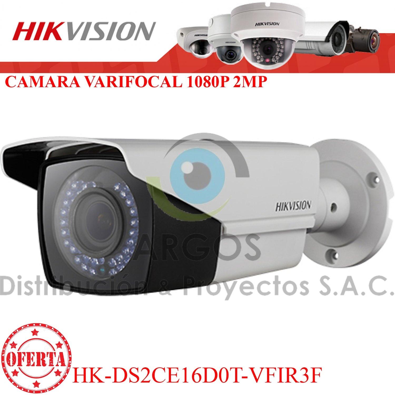 CÁMARA TUBO VARIFOCAL FULL HD 1080P 40M