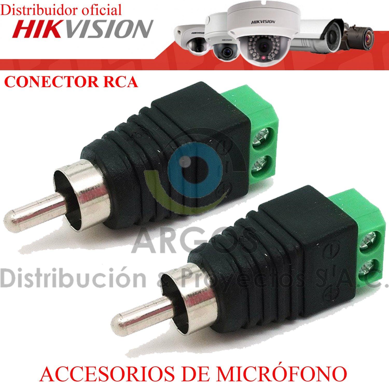 PAR CONECTOR RCA (UNIDAD)