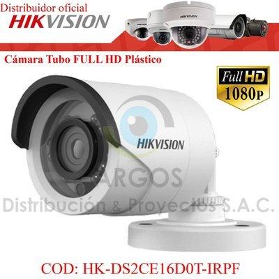 CÁMARA TUBO FULL HD 1080P 20M PLÁSTICO