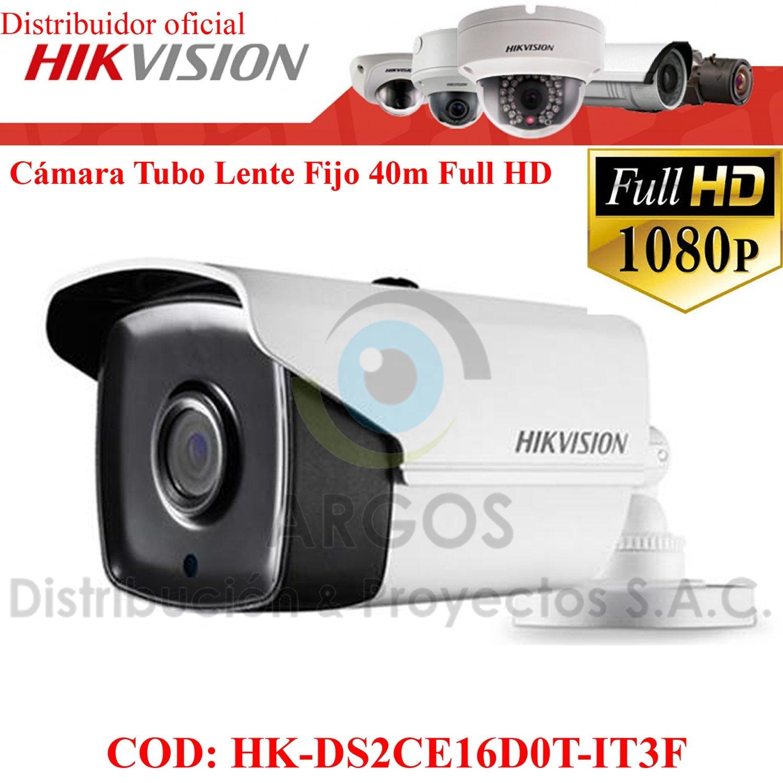 CÁMARA TUBO FULL HD 1080P 40M HIKVISION