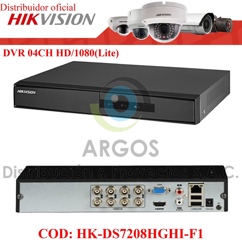 DVR 08CH HD 720P/1080P(Lite) HIKVISION