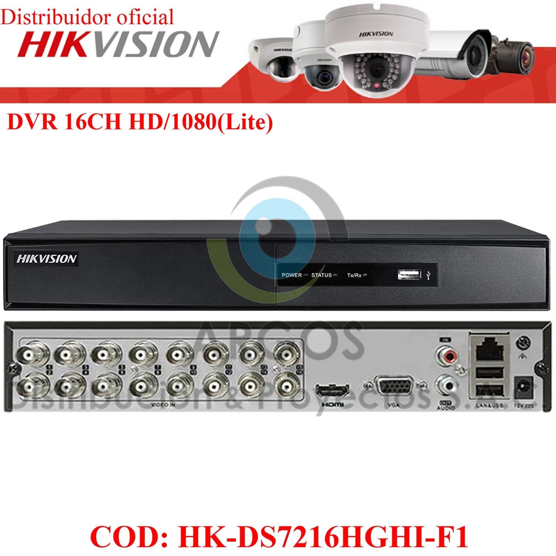 DVR 16CH HD 720P/1080P(Lite) HIKVISION