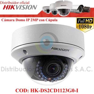 CÁMARA IP DOMO FULL HD 1080P 2MP  VARIFOCAL   SD   ANTIVANDÁLICO