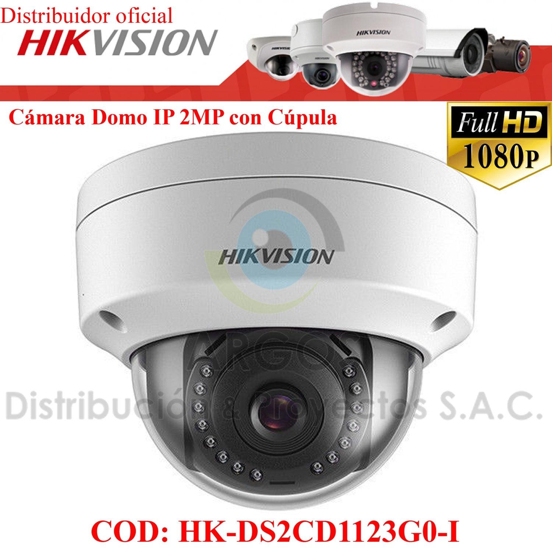 CÁMARA IP DOMO FULL HD 1080P 2MP | ANTIVANDÁLICO