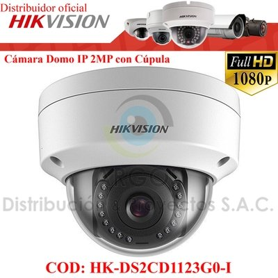 CÁMARA IP DOMO FULL HD 1080P 2MP   ANTIVANDÁLICO
