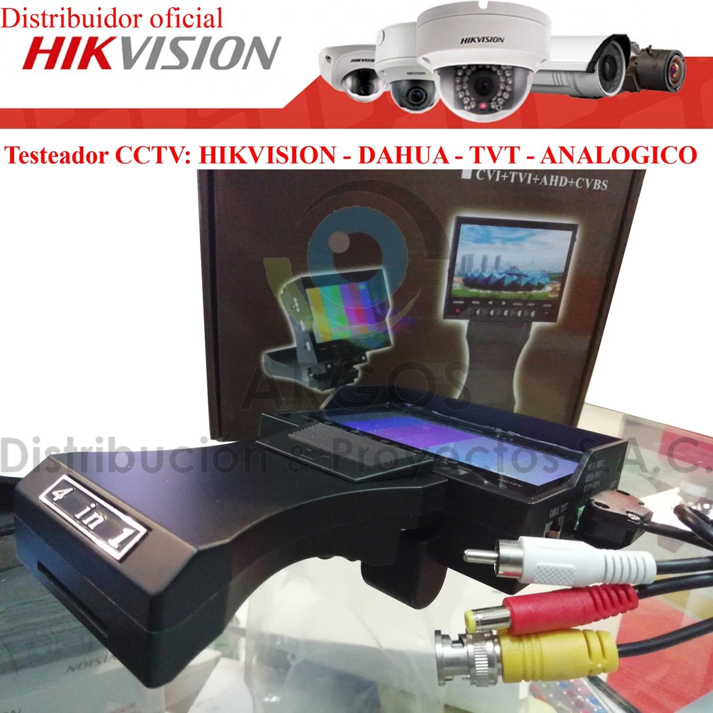 TESTEADOR DE CÁMARAS CCTV   HD y FULL HD   TODAS LAS MARCAS