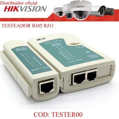 TESTEADOR PARA RED RJ45/RJ11