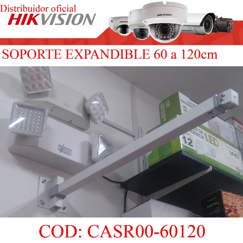 SOPORTE EXPANDIBLE CCTV DE 60 A 120CM