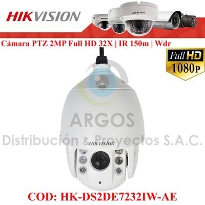 "DOMO PTZ ""IR"" IP 2Mp FULL HD 1080 30FPS   WDR 120dB  ZOOM 32x   IR 150m   ALARMA   AUDIO  SLOT SD  IP66"