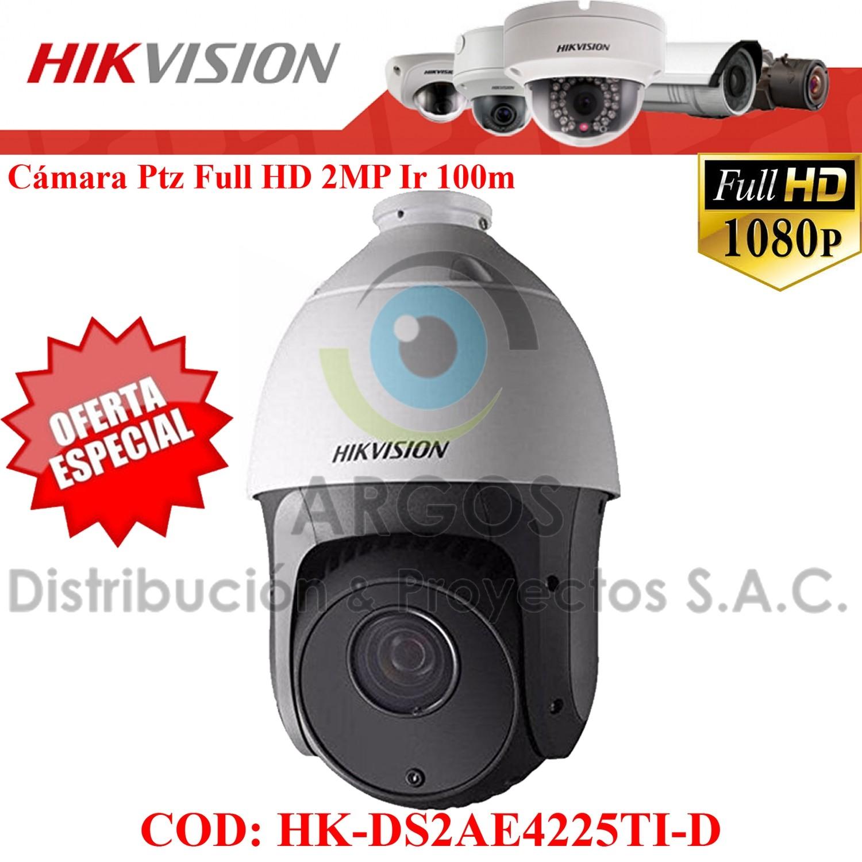 "Domo IR PTZ 1080P D-WDR   CMOS 1/3""   Zoom 25X16   IR 100m   Exterior IP66"