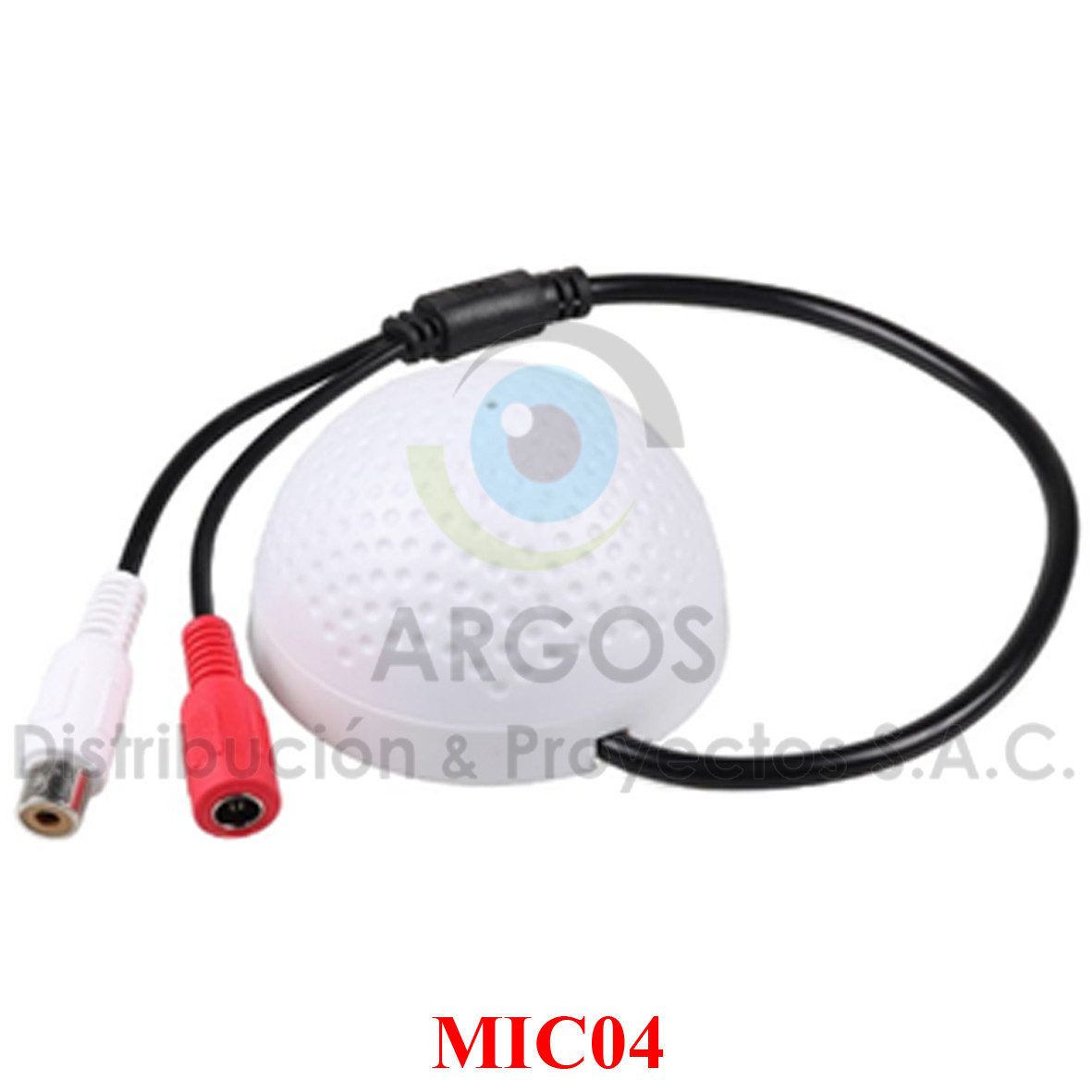 MICROFONO CCTV ALTA FIDELIDAD