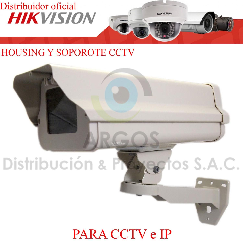 HOUSING CON SOPORTE PARA CÁMARA CCTV