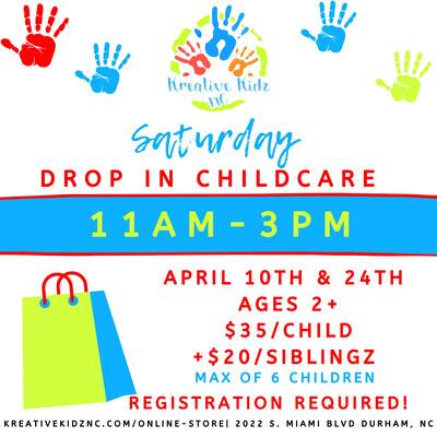 Saturday Drop In Childcare