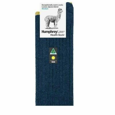 Alpaca Health Sock Style 01C - Denim