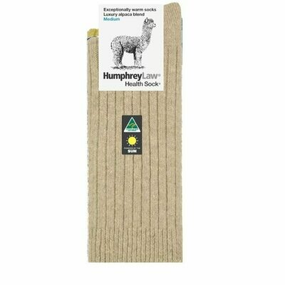 Alpaca Health Sock Style 01C - Antelope