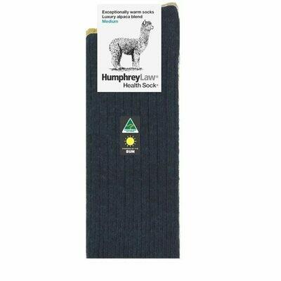 Alpaca Health Sock Style 01C - Charcoal