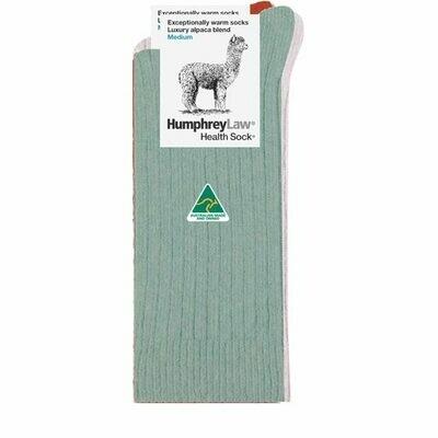 Alpaca Health Sock Style 01C - Lichen
