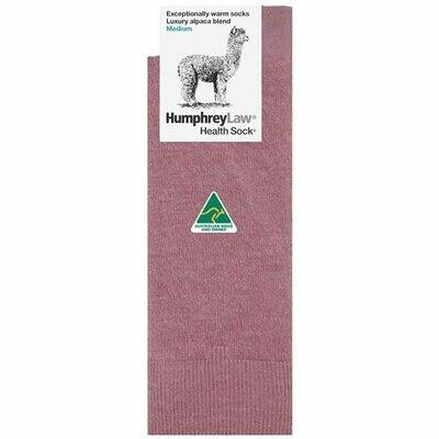 Baby Alpaca Blend Health Sock® Style 05C - Old Rose