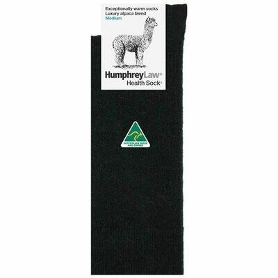 Baby Alpaca Blend Health Sock® Style 05C - Black