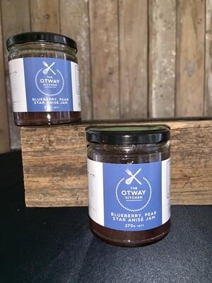 Otway Kitchen Blueberry, Pear, Star Anise Jam