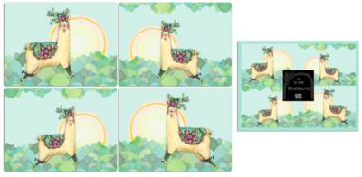 Alpaca Placemats