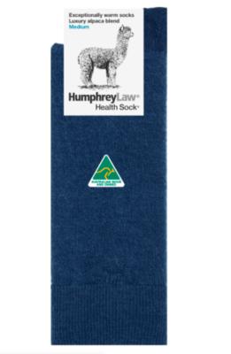 Baby Alpaca Blend Health Sock® Style 05C - Denim