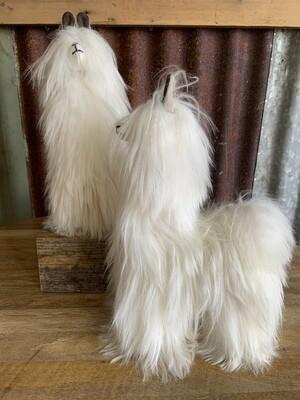 Shaggy Suri Alpaca Fleece Toy