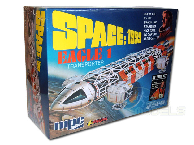 "MPC 12"" EAGLE 1 TRANSPORTER MODEL KIT - SPACE: 1999 - SUPERB!"