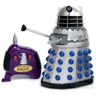 "12"" Classic Radio Control Dalek - Product Enterprise Ltd - Vintage 2004"