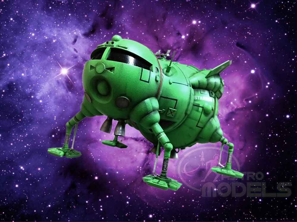 "Pre-Assembled and Painted Starbug Spacecraft - 11"" Long - Collectors Model - Superb Detail!"