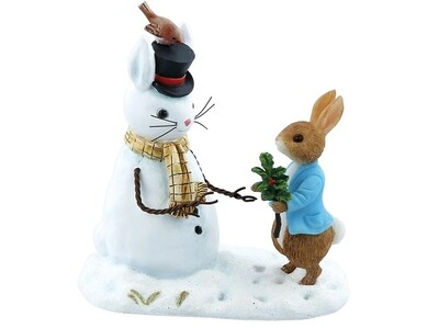 Beatrix Potter 'Peter Rabbit and Snow Rabbit' Collectable Figurine