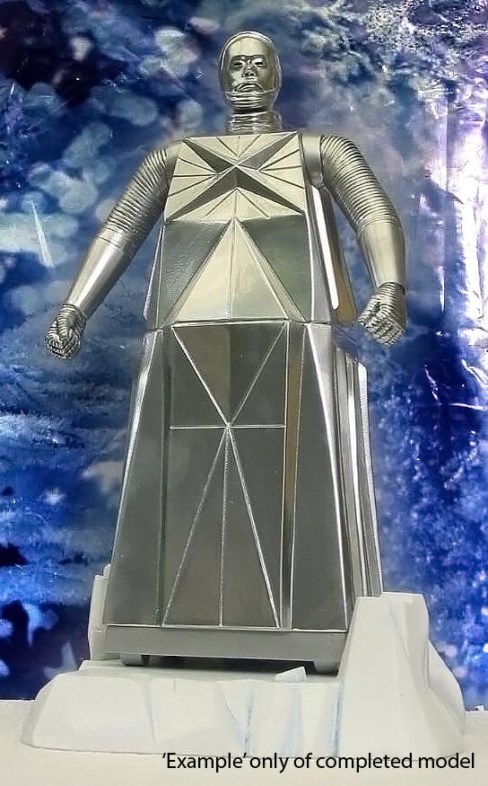 """11"""" Box Robot - Logan's Run - Model Kit"""