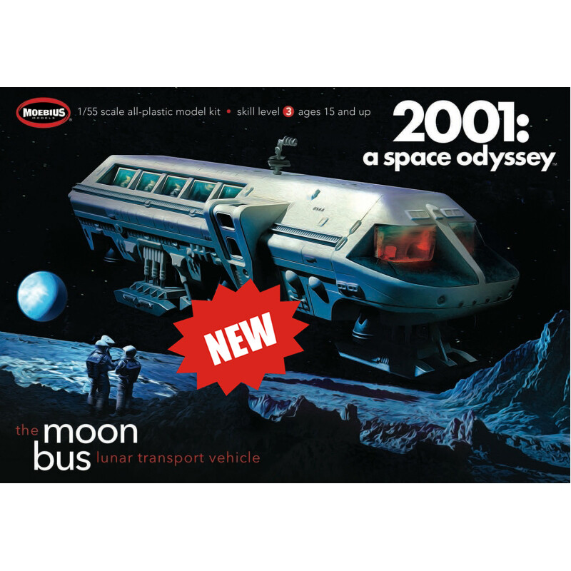 Moon Bus - 2001 Space Odyssey - 1:55 Scale