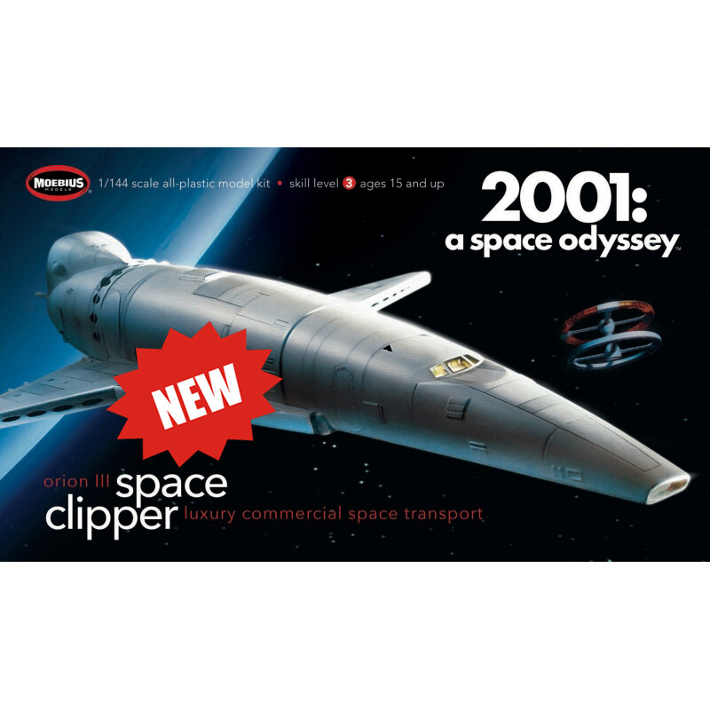 Orion III Space Clipper - 2001 Space Odyssey - 1:144 Scale