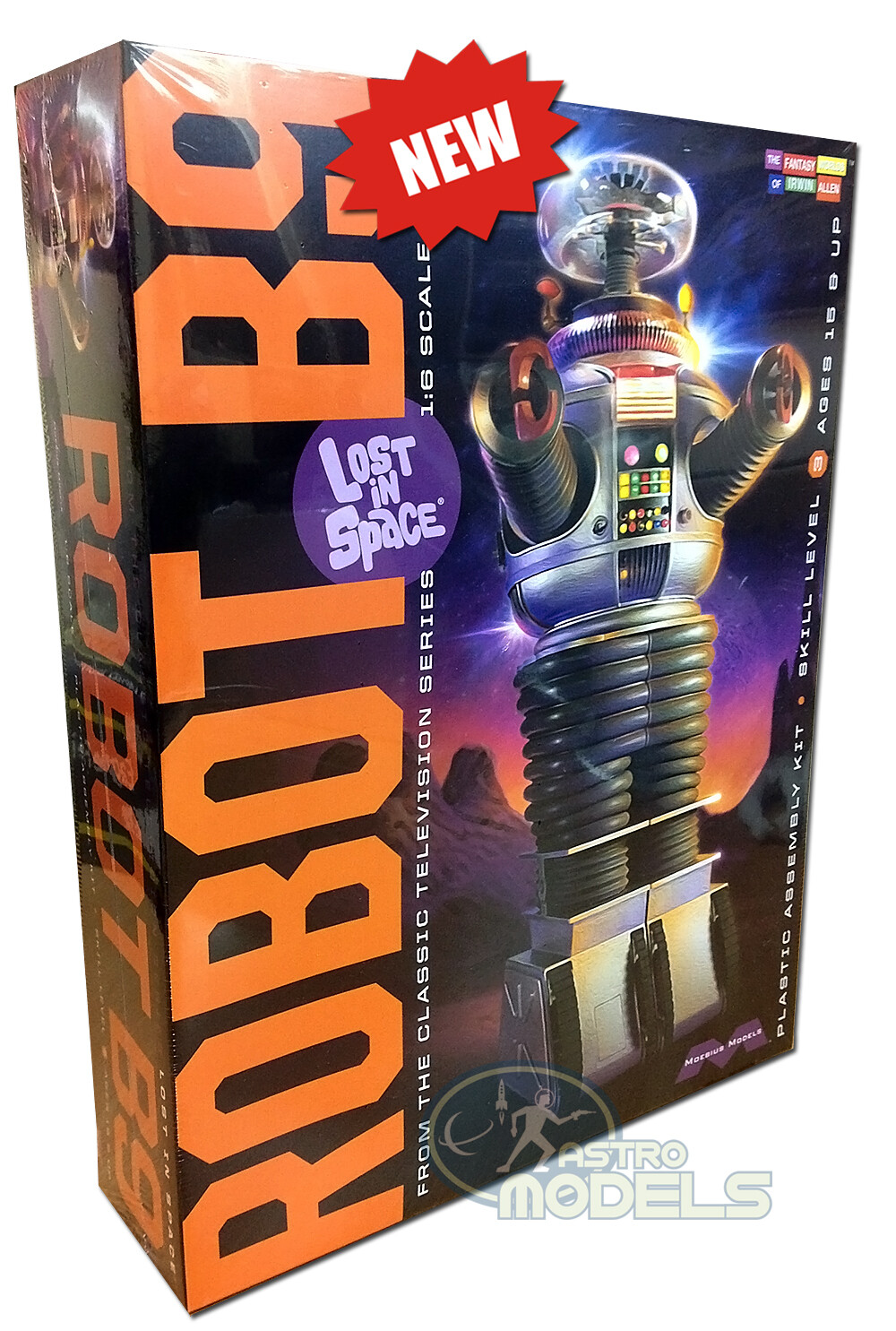 Robot B9 – Lost in Space - Large 1:6 Scale