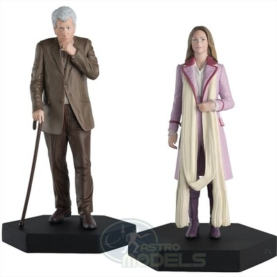 Time Lords Set #1 - Romana and The Curator Figurine Set