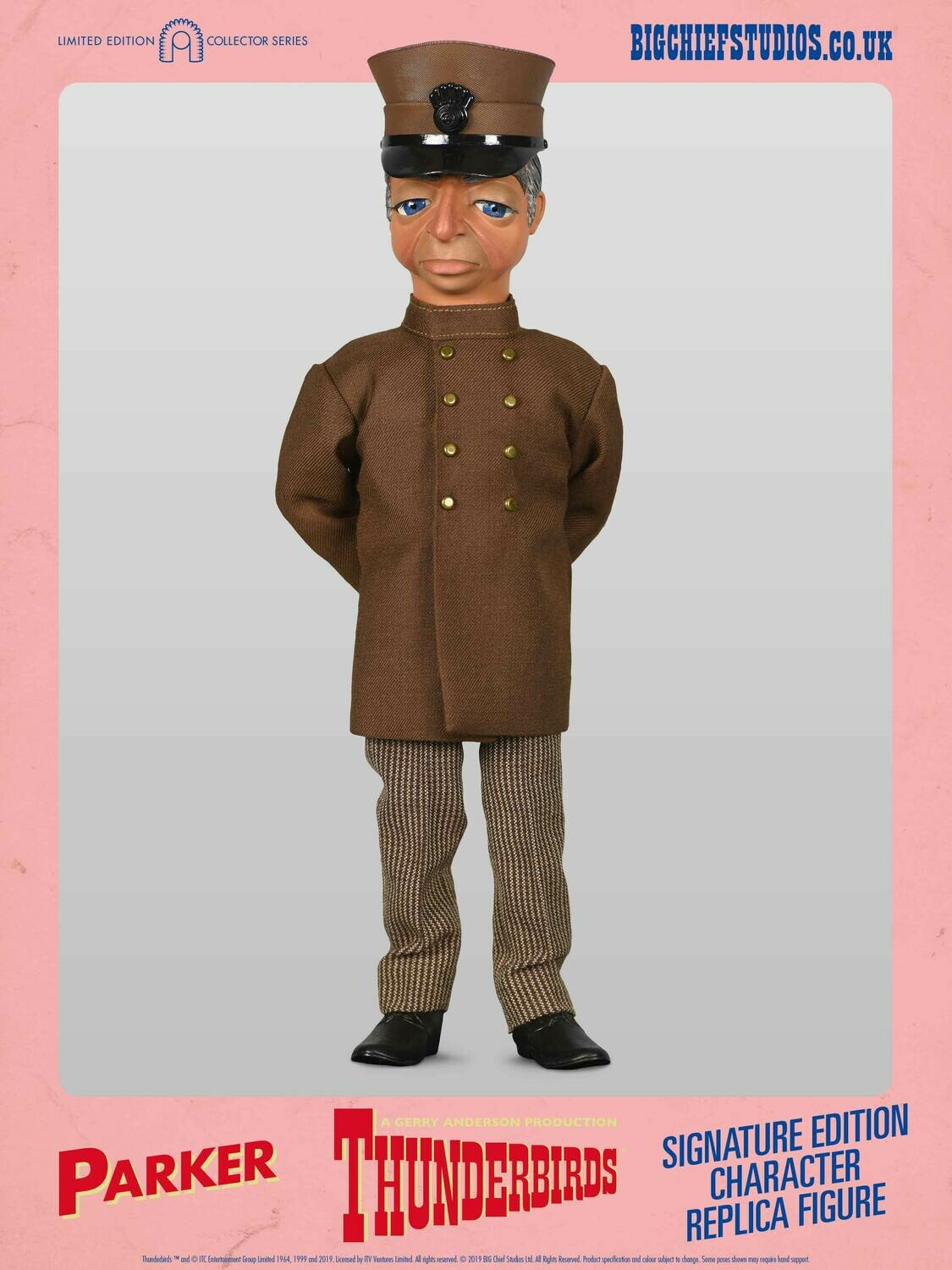 "Thunderbirds 12"" Parker Character Replica Figure Signature Edition - Limited to only 500"