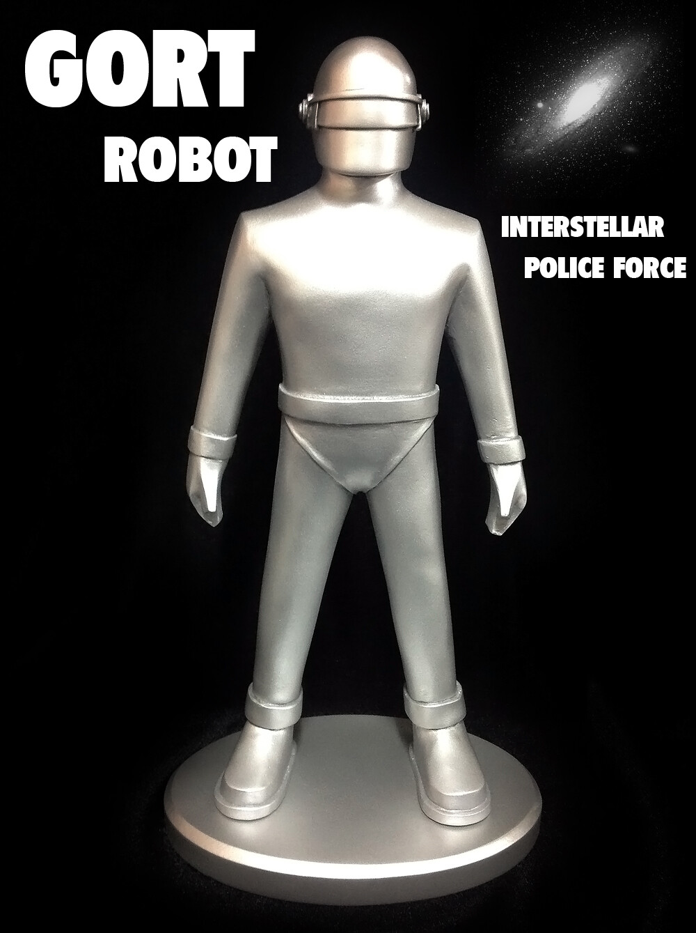 """12"""" Gort Robot - The Day the Earth Stood Still - Pre-painted Model"""