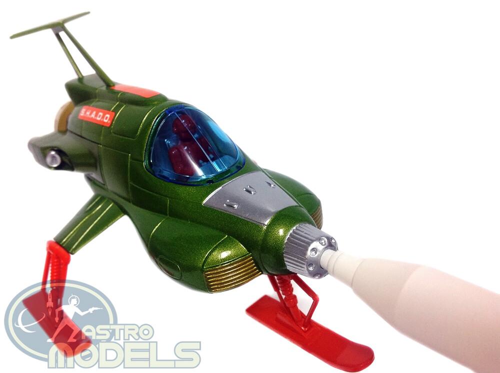 NEW! Sixteen12 Retro Die-cast UFO SHADO Interceptor