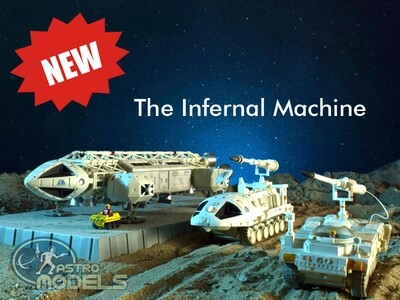 NEW! Sixteen12 'Deluxe' Diecast Collection Set From 'SPACE: 1999' - Includes ALL NEW Laser Tanks!! This Episode: 'THE INFERNAL MACHINE' LIMITED EDITION!
