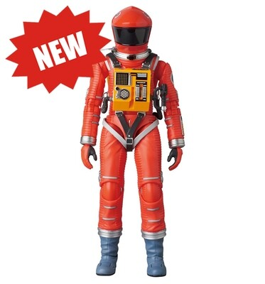 Medicom '2001: A Space Odyssey' Space Suit Action Figure - Red Version - Approximately 7 Inches Tall