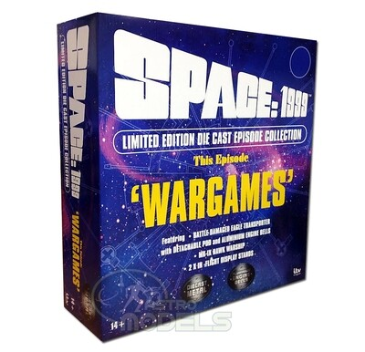 NEW! Sixteen12 'Deluxe' Diecast Collection Set From 'SPACE: 1999' - This Episode: 'WARGAMES' LIMITED EDITION!